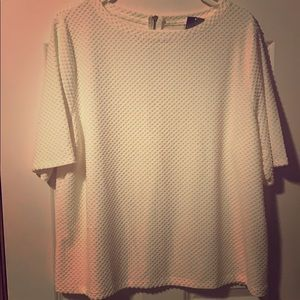 Chico's Women's Cream Top size 3 NWT New